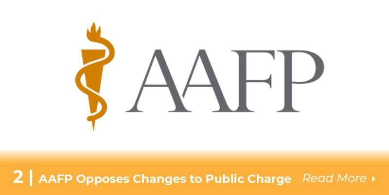 aafp opposes changes to public charge