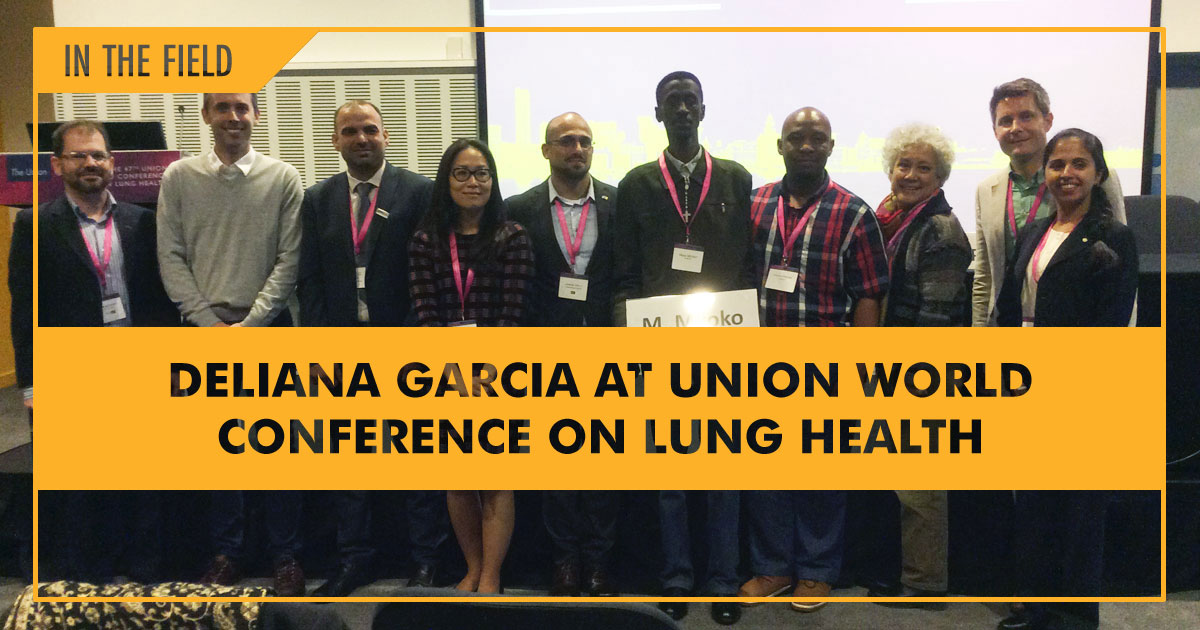 mcn Deliana Garcia at Union World Conference on Lung Health