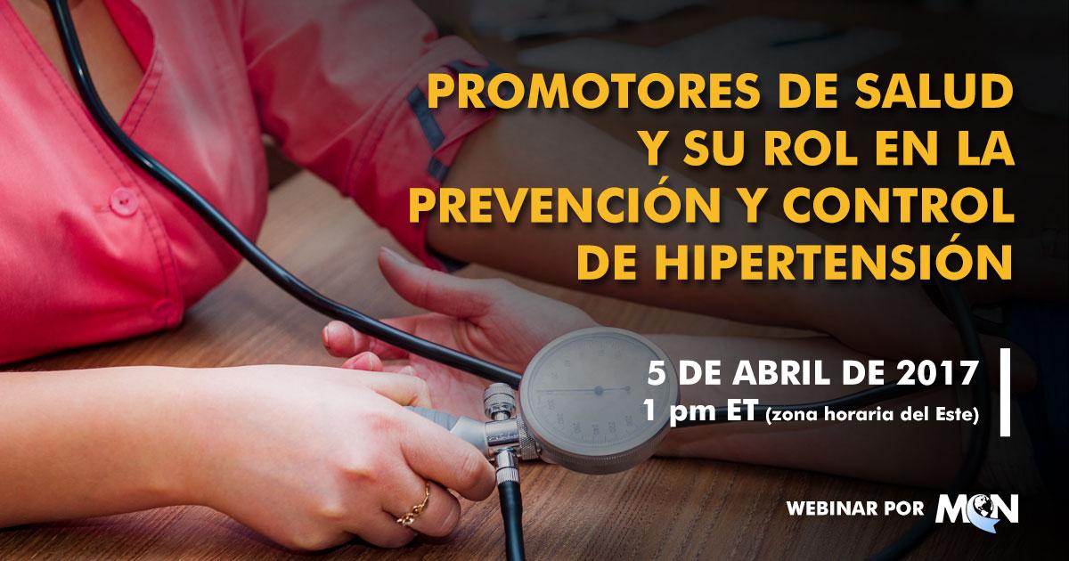 mcn webinar Prevención y Control de Hipertensión