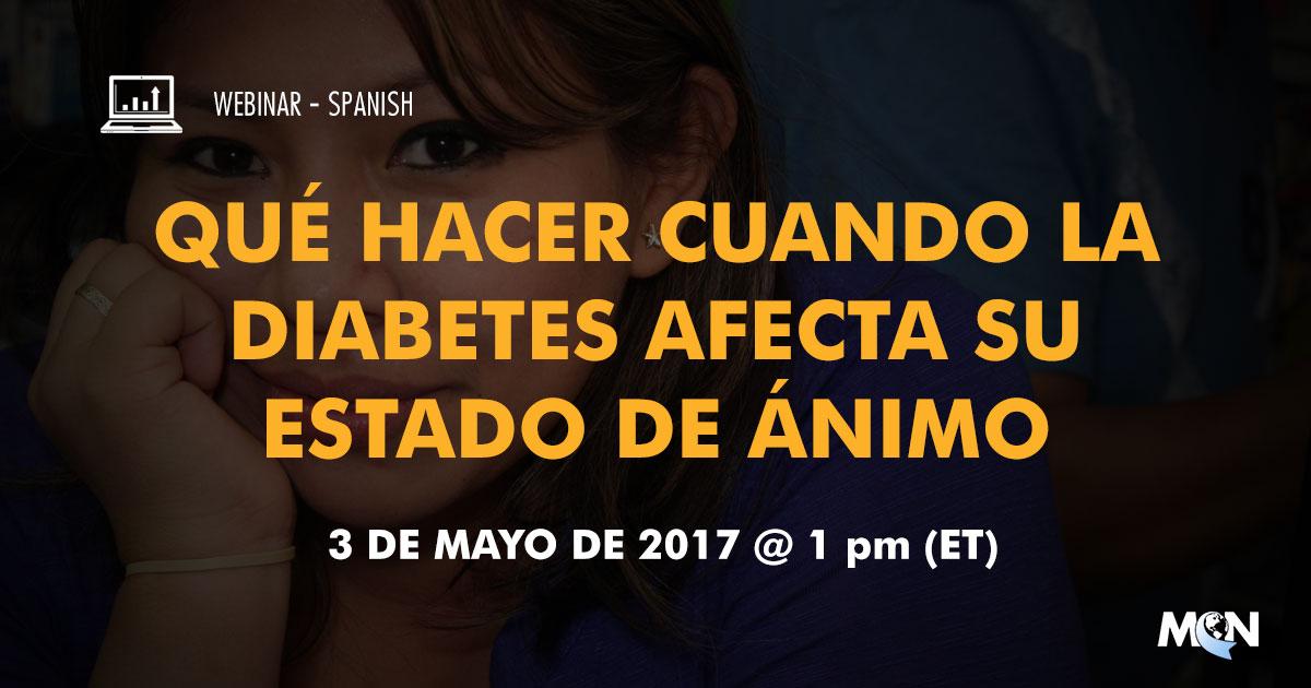 mcn webinar Qué hacer cuando la diabetes afecta su estado de ánimo