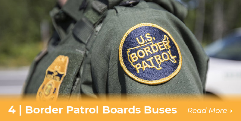 Border Patrol on Buses