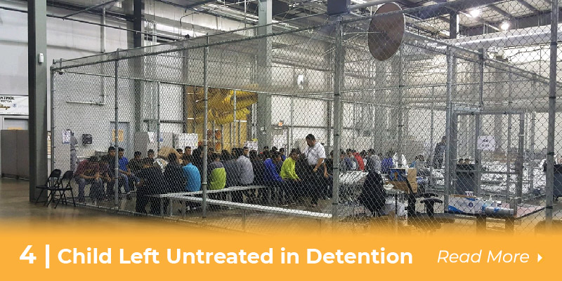 child untreated in detention