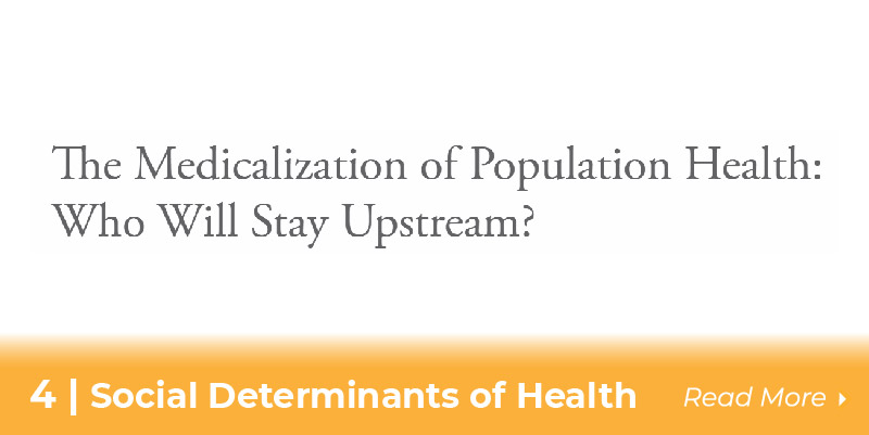 4 social determinants of health