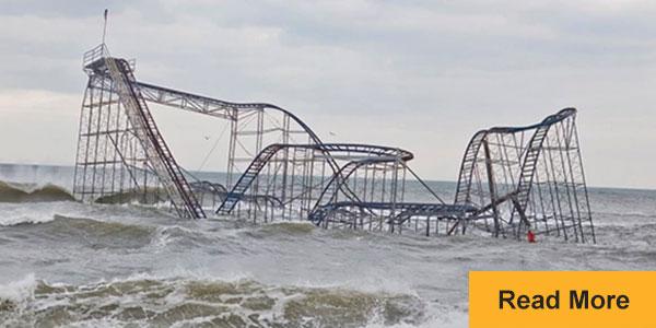 roller coaster sinking in ocean in new jersey