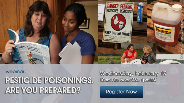 Pesticide poisonings. Are you prepared? Register Now!