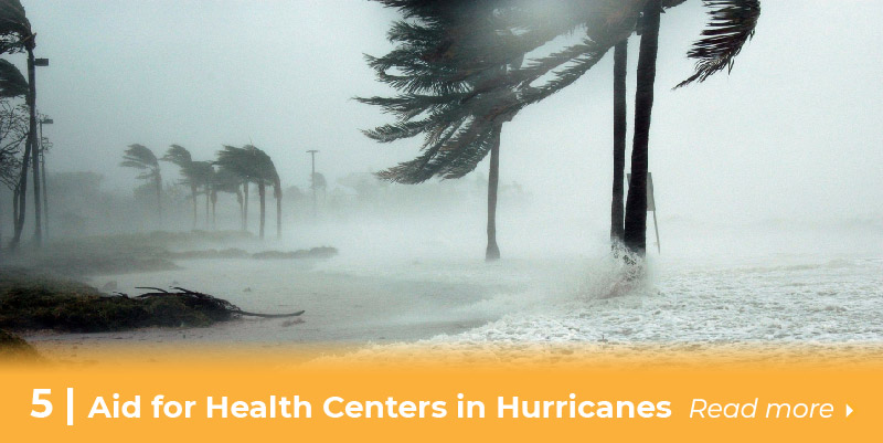 Support for Health Centers in Hurricanes