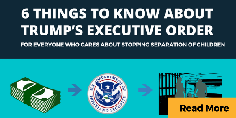 Infographic about Trump executive order