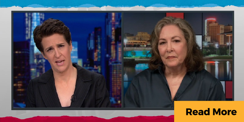 Marsha Griffin on Rachel Maddow Show