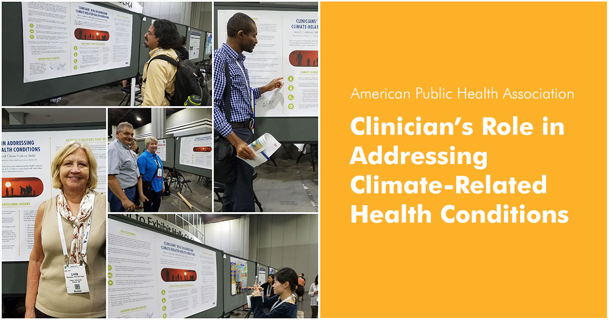 APHA - Clinicians' role in addressing climate related health conditions