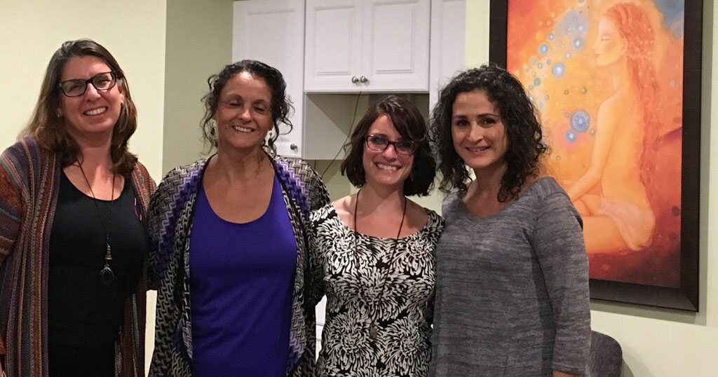 Amy Liebman, Veronica Correa, Kerry Brennan, and Zlati Koscina