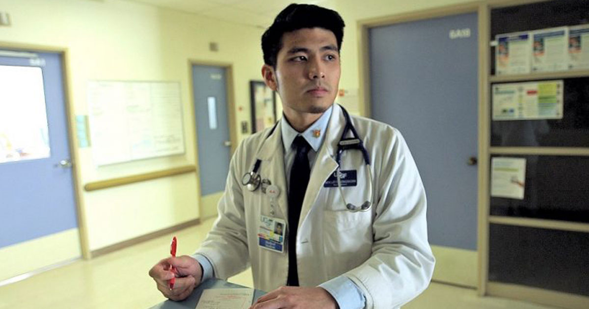 "Jirayut ""New"" Latthivongskorn at San Francisco General Hospital"