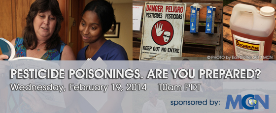 Webinar: Pesticide poisonings. Are you prepared?