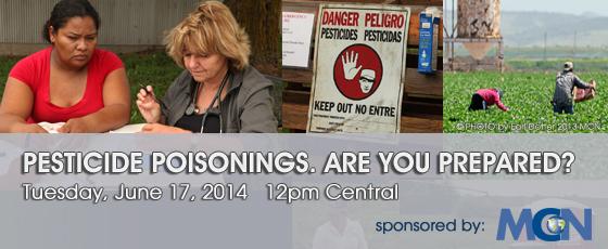 Webinar: Pesticide poisonings. Are you prepared?
