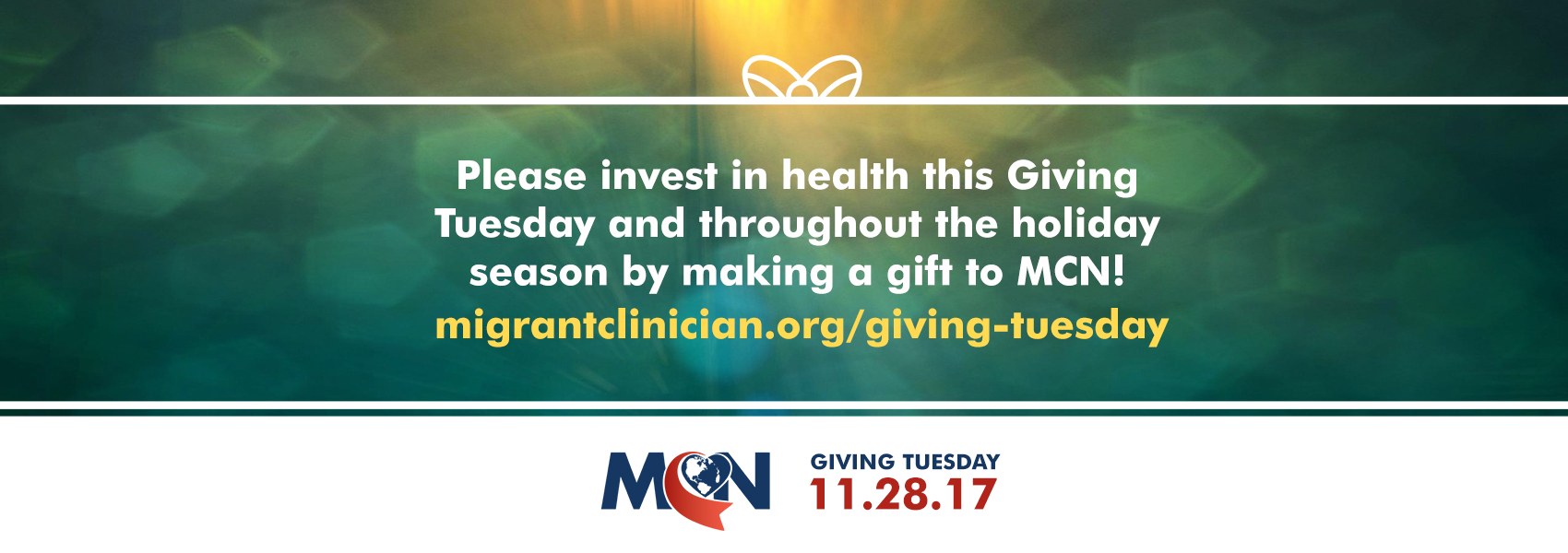Invest in Health by making a gift to MCN!