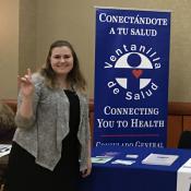 Austin Interns at the Texas Public Health Networking Fair