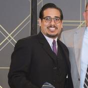 Ricardo Garay with Premiere Care Award