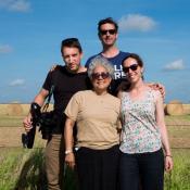Tom Laffay, Ilana Weiss, Deliana Garcia and Jason Glaser in Texas