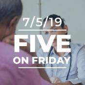 Five on Friday: The Crisis of Physician Burnout