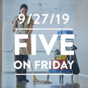 Five on Friday: September 27, 2019