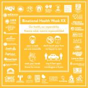Celebrating Binational Health Week XX Virtually