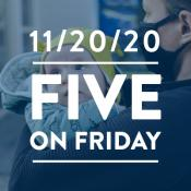 Five on Friday: Children and COVID-19