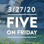 Five on Friday: Maryland Bans Chlorpyrifos!