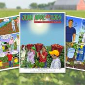 MCN Comic Book and Training Curriculum Helps Farmworkers Stay Safe From