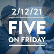 Five on Friday: Overcoming COVID-19 Vaccine Hesitancy