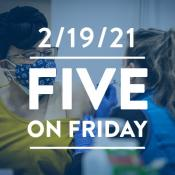 Five on Friday: Removing Barriers to Vaccination