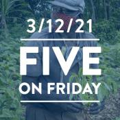 Five on Friday: Weekly Win Edition