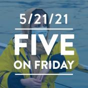 Five on Friday: Mental Health Awareness Month 2021