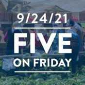 Five on Friday: Administration Moves to Protect Workers from Heat