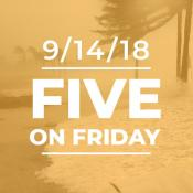 Five on friday: Support for health centers in hurricanes