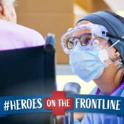 #HeroesOnTheFrontline: Finding Inspiration from Clinicians Around the World