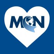 MCN logo within a heart shape