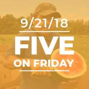 Five on Friday: NFSH Week