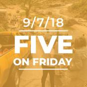 Five on Friday: National Preparedness Month