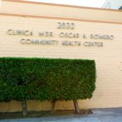 Outside of Clinica Msr. Oscar A. Romero Community Health Center