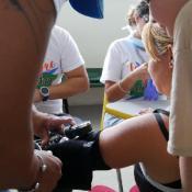 CSM treats patients after maria