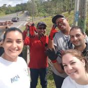 MCN Outreach with work crew