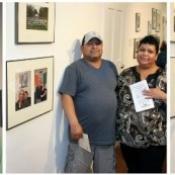 Photo Exhibit Reception