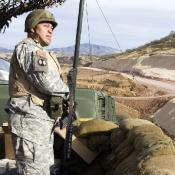 Militarization of Mexican border