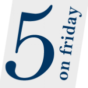 Five on Friday | May 22, 2015