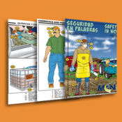 Bilingual Picture Dictionary for Health & Safety in Agriculture