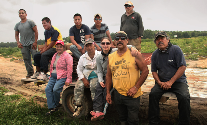 mcn group of migrant farm workers