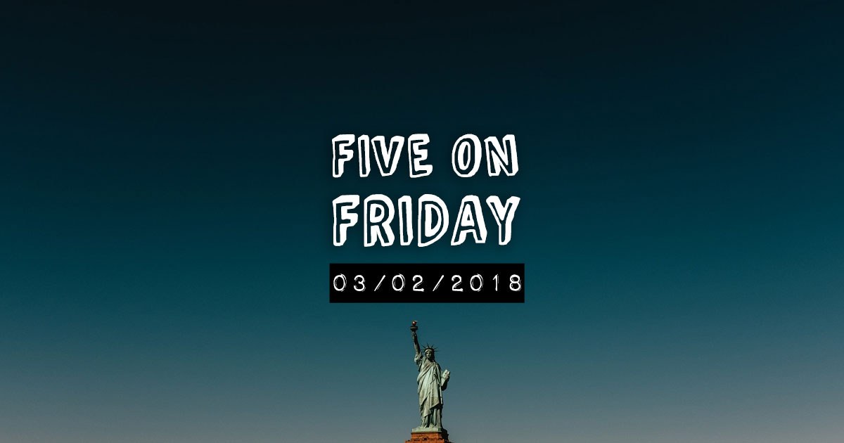 MCN Five on Friday - Statue of Liberty