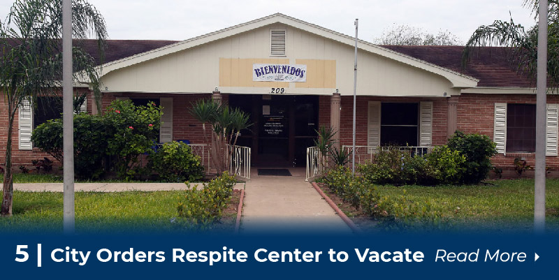 5 City orders respite center to vacate