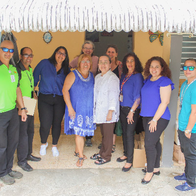 MCN and CSM met with Ana Medrano, a community leader living near Hatillo.