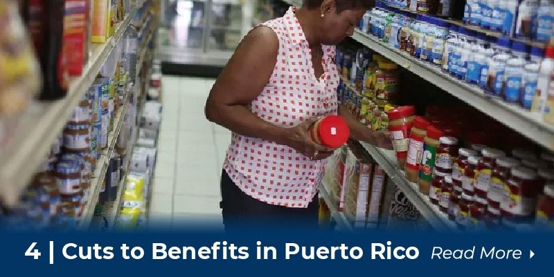 4 cuts to benefits in puerto rico