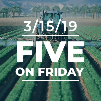 Five on Friday: Pesticide Regulation Protects Workers